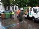 Die Mitarbeiter des Bauhofes der Marktgemeinde Rankweil waren im Einsatz.
