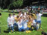 Die U13A-Meister-Mannschaft des VfB Hohenems