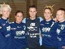 Die Verstärkungen der Feldkircher Damenmannschaft mit Neotrainer Nils Kühr.