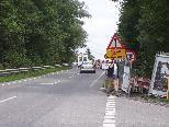 Die Überführung bei der Höchsterstraße wird verbreitert und soll künftig eine Verbesserung für Radfahrer und Fußgänger bringen.