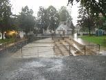 Emsbach führt Hochwasser