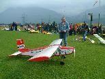 Flugkünste in Perfektion gibt es beim Modellflugtag in Schlins zu sehen.