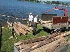 Für diese beiden Holzer hat sich die Ausfahrt auf den Bodensee gelohnt.