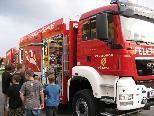 Großer Bahnhof für das neue Fahrzeug der Hörbranzer Feuerwehr.