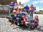 Kreativität, Wissen, Spiel und Spaß standen im Vordergrund der Kinderaktivitäten.