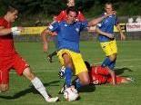 Manuel Nachbaur im Kampf um den Ball