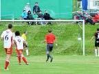 Nach 29. Minuten steht es in Sulzberg 2:0 für den FC Viktoria, Torschütze Julian Halder.