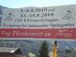 Schruns/Tschagguns ist bereit für den Europacup der Ambassador Springreiter