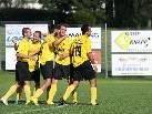 Sechs Mal durfte FC Hörbranz gegen Kennelbach jubeln.