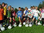 Sparkasse-Nachwuchs-Fußballcamp auf der Birkenwiese