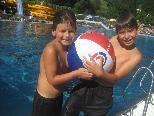 Spiel und Spass war auch heuer beim Schwimmfest angesagt.
