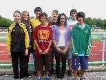 TS Gisingen holte in Amstetten Gold im U-18-Teambewerb.