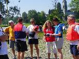 Teilnehmer am Gummi-Wurst-Preis