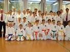 die Kyu Prüflinge des Shotokan Karate Club Lauterach