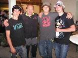 3.Platz beim Mannschaftspreis unsere Jungs Chris, Adolf, Sebastian und Marc