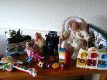 Allerlei Spielzeug gibt es beim Kindermarkt am Sonntag