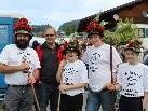 Auch Bürgermeister Reinhard Nachbaur hieß die Hirtenfamilie Kaufmann herzlich willkommen.