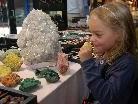 Bei det Mineralienbörse gab es alles rund um Steine und Kristalle.
