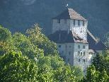 Bild: Die Schattenburg war einst einer der Stammsitze der Montforter.