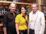 Bürgermeister Josef Mathis mit Angelika und Karlheinz Watzenegger.