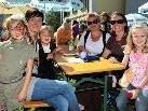 Das spätsommerliche Schönwetter lockte viele Besucher in den Gastgarten