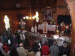 Der Männergesangverein gestaltet die Bergmesse in der Theresienkapelle.