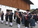 Der Musikverein Göfis sorgt während des Jahres für so manche musikalische Unterhaltung.