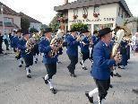 Die Bürgermusik Hohenems beim Festumzug