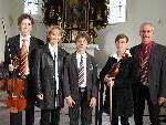 Die Musikerfamilie Breuß lädt am Sonntag zur Abend - Soiree in St. Corneli-Tosters.