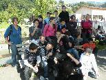 Die Schüler der MS Bregenz-Rieden beim Ausflug auf den Karren.