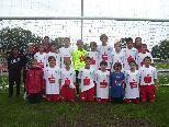 Die U14 des FC Dornbirn ist in Topform und startet mit zwei Siegen in die Meisterschaft.
