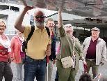 Die bereits 7. Blinden-Flugplatzführung war wiederum für alle Beteiligten ein tolles Erlebnis