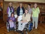 Ehrung und Neuwahlen beim Stammtisch für Behinderte und Nichtbehinderte
