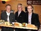 Eröffneten den KäseHerbst: LR Erich Schwärzler, Bgm. Georg Fröwis und GF Michael Moosbrugger