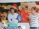 FCL-Erfolgscoach Hans Kogler und Kapitän Philipp Eisele sind optimistisch.