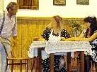 Günther Lins, Ramona Konrad  und Lilli Rauch zeigen sich wieder in Spiellaune.