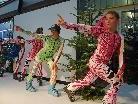 Highlight war die Modenschau mit den angesagtesten Skisporttrends.