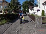 In 10 Tagen ist Lucas Lubbers von Holland nach Lustenau geradelt.