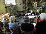 Literaturstunde in der Nepomukkapelle