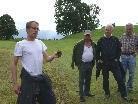 Mag. Andreas Beiser mit einige Teilnehmern der Führung.