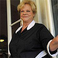 """Marianne Mendt, hier während der Dreharbeiten zur ORF-Produktion """"Meine Oma ist die Beste"""", wird 65."""