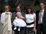Mirella Kampl wurde in der Pfarrkirche getauft