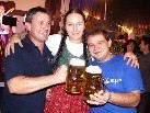 Miss-Dirndl Wahl und Biergrugstemmen beim Ludescher Oktoberfest in der Blumenegghalle