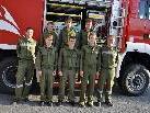 Schon die jungen Feuerwehrmänner genießen eine gute Ausbildung.