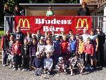 Tenniscamp TC Bürs: die teilnehmenden Kinder, Trainer und Betreuer