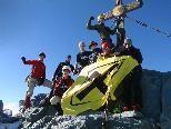 Vorarlberger Alpenvereinsjugend in Vorbereitung auf Elbrus-Expedition.