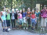 Wandertag an der VMS - Girls der ersten Klassen