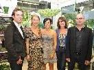 (v.l.) Marius Amann, Melanie Hammerer, Jasmine Sgonc-Kalin, Evi Mayr, Markus Gritschacher