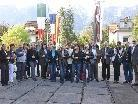 2oo9 bei unserem 50ger Empang beim Rathaus in Bludenz