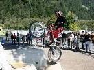 Am Sonntag findet in Vandans ein Motorrad-Trialwettbewerb statt.